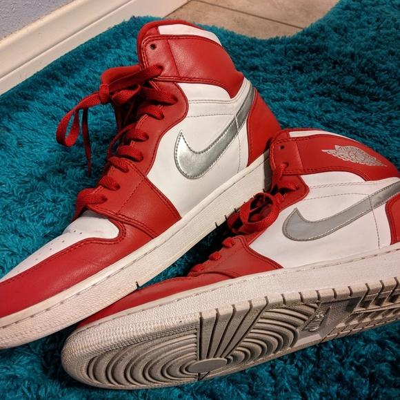 more photos 68405 6f3d7 Nike Air Jordan 1 Silver Medal size 12